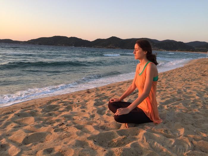 медитация сред природата
